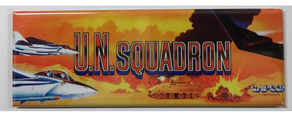 U.N. Squadron - Arcade/Pinball - Magnet - Capcom