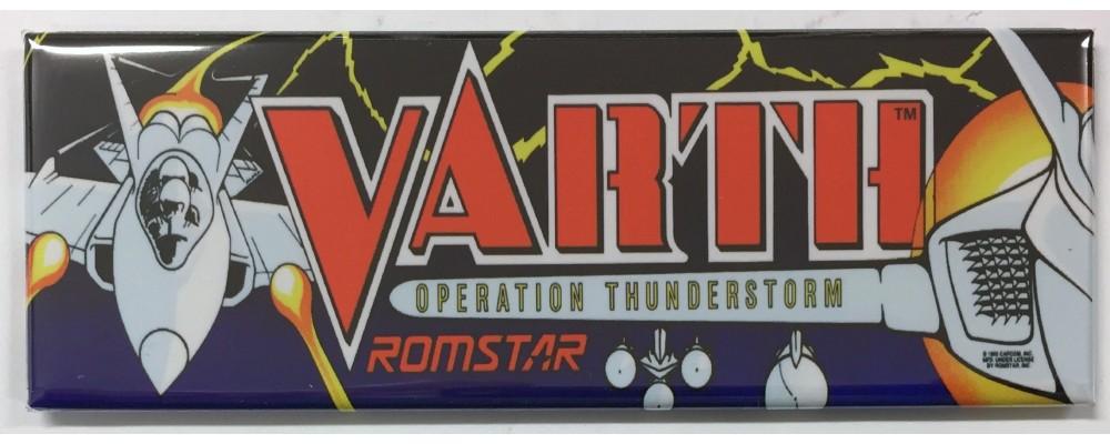 Varth Operation Thurnderstorm - Arcade/Pinball - Magnet - Romstar