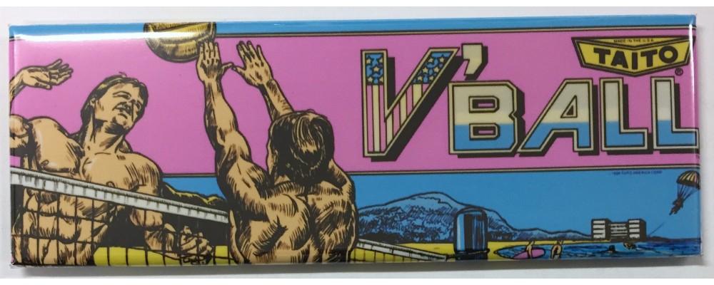 V'Ball - Arcade/Pinball - Magnet - Taito