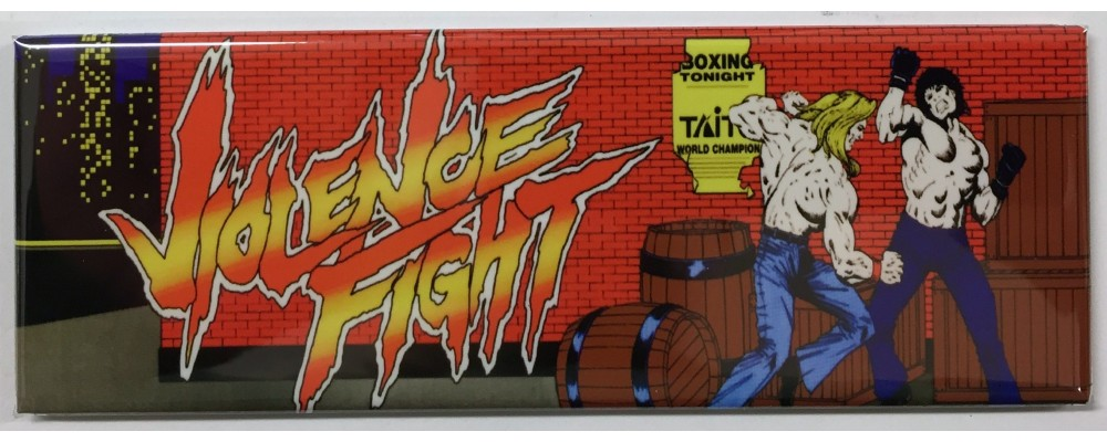 Violence Fight - Arcade/Pinball - Magnet - Taito