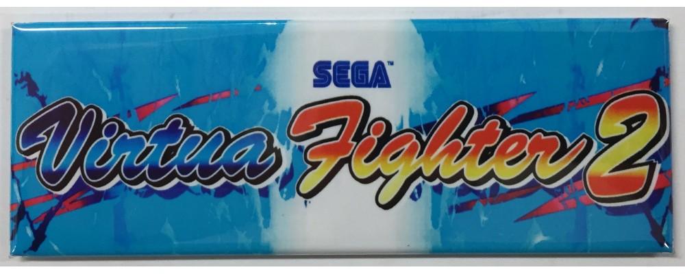 Virtua Fighter 2 - Arcade/Pinball - Magnet - Sega