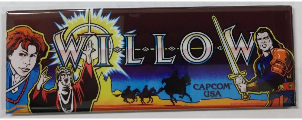 Willow - Arcade/Pinball - Magnet - Capcom
