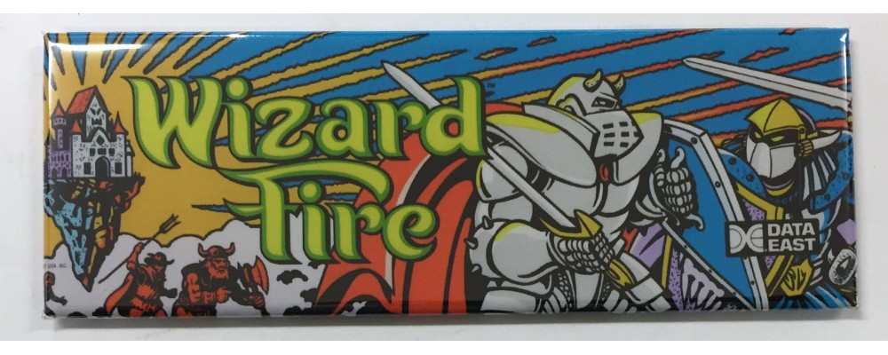 Wizard Fire - Arcade/Pinball - Magnet - Data East