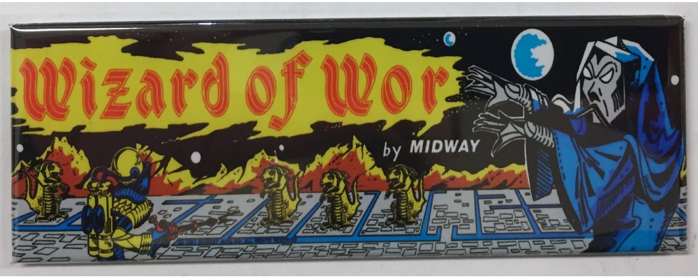 Wizard Of Wor - Arcade/Pinball - Magnet - Midway