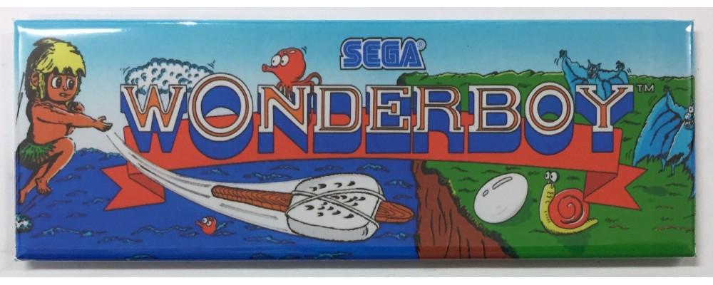 Wonderboy - Arcade/Pinball - Magnet - Sega