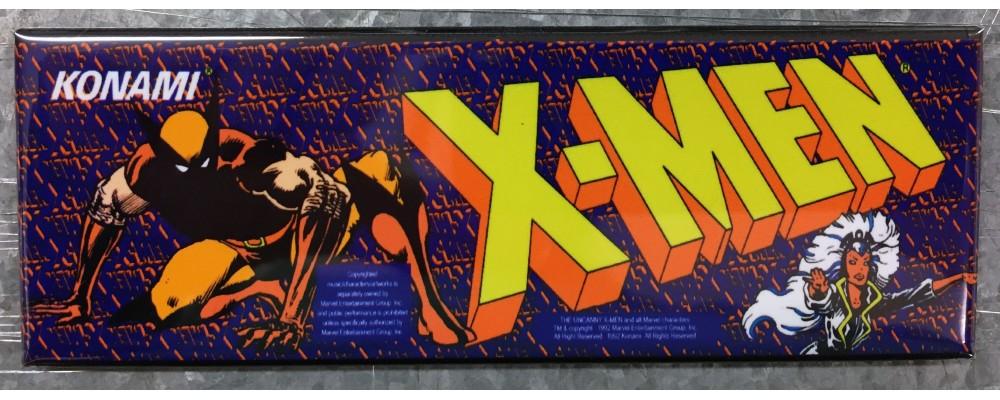 X-Men - Marquee - Magnet - Konami