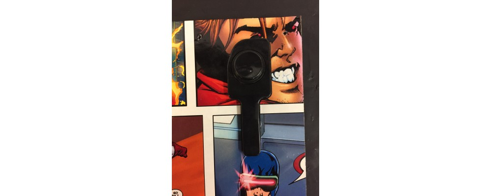 Marvel Super Heroes Pinball Machine Right Side Panel  - Wall Art  - Marvel