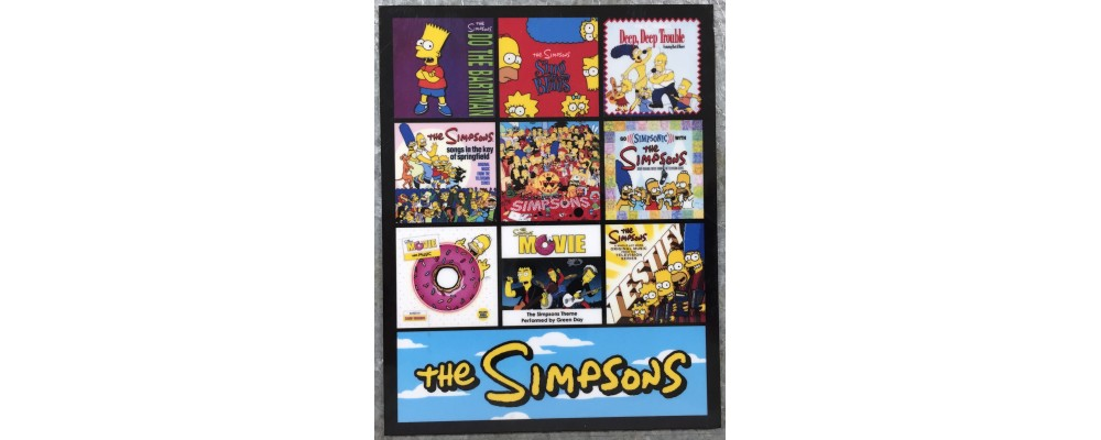 The Simpsons - Music - Magnet
