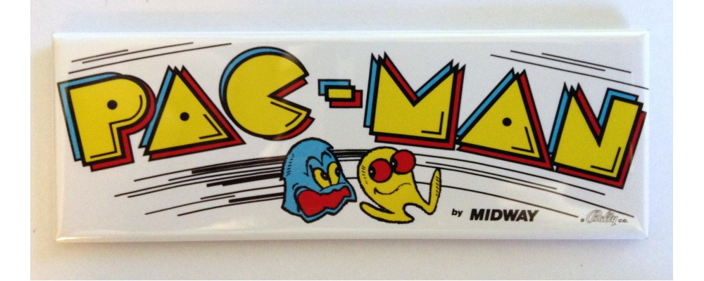 Pac-Man - Marquee - Magnet - Midway