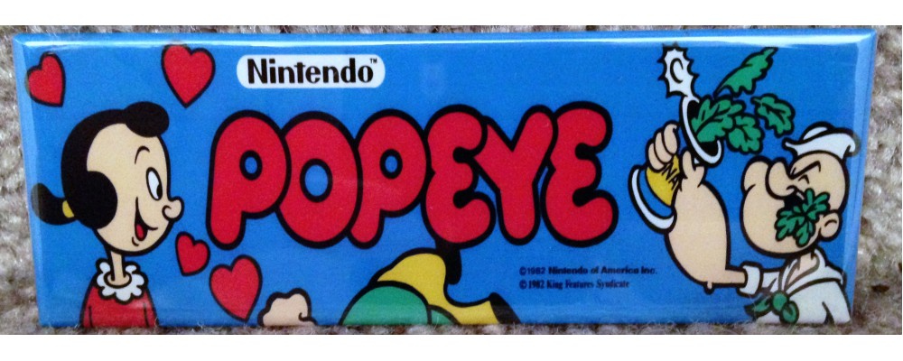 Popeye - Marquee - Magnet - Nintendo