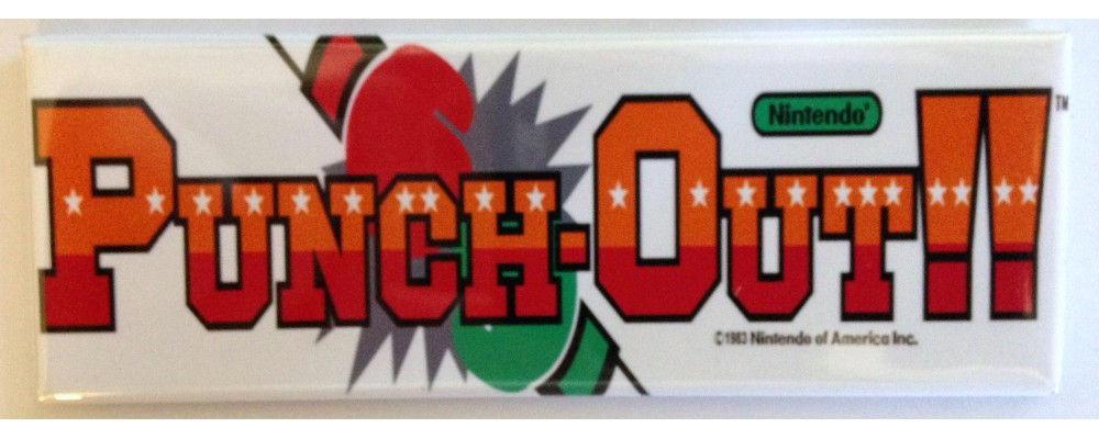 Punch-Out!! - Marquee - Magnet - Nintendo