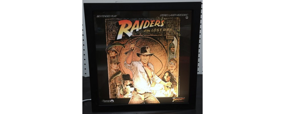 Raiders Of The Ark - Album Cover Print - Lightbox