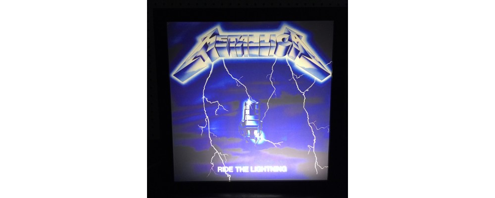 Metallica Ride The Lightning - Album Cover Print - Lightbox