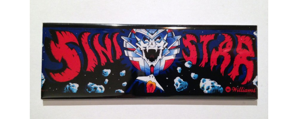 Sinistar - Marquee - Magnet - Williams